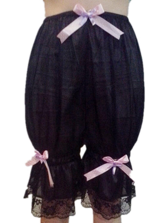 Frauen Handgefertigt Halb Slips UL2BBK5 Black Half Slips Nylon Women Pettipants Lace jetzt kaufen