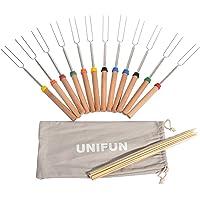 12-Pack Unifun Marshmallow Roasting Sticks Set