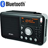 Eton Field AM / FM / Shortwave Radio with RDS and Bluetooth, NGWFBTB (Renewed) (Color: NGWFBTB)