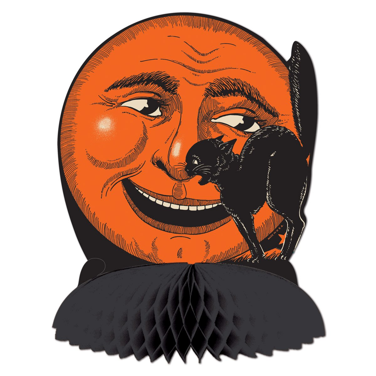 Vintage halloween paper decorations - Halloween Wikii