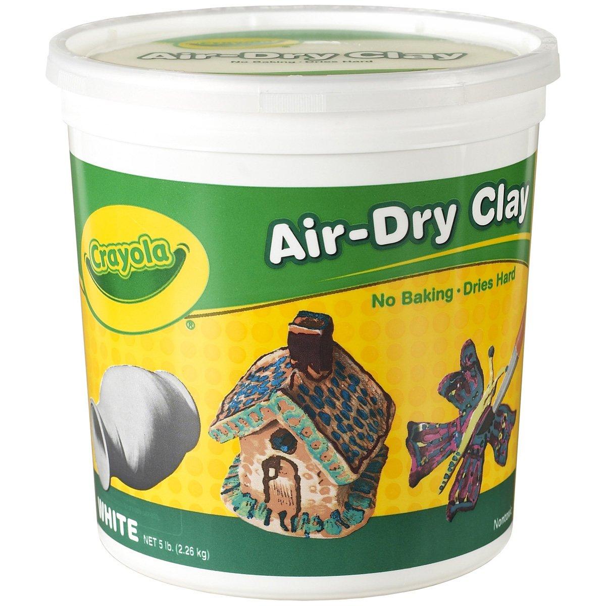 Dry Clay Powder Crayola Air Dry Clay 5 lb
