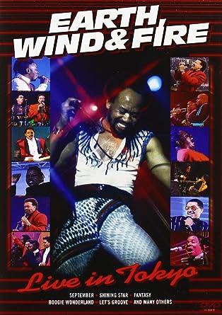 Resultado de imagen de Earth, Wind & Fire - Live in Tokyo 94