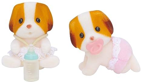 Sylvanian mousseline Twins Dog (5083) - Epoch