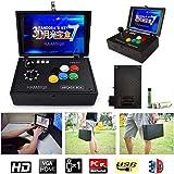 HAAMIIQII [2177 HD Retro Games] 3D Pandora's Key 7 Box Arcade Video Game Console 1080P Single Player Portable Mini Arcade Machine with 10