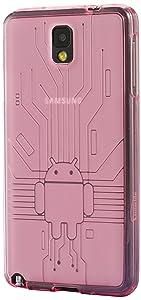 Cruzerlite - Carcasa para Samsung Galaxy Note 3, diseño de circuito y muñeco Android - Electrónica - Comentarios y más información