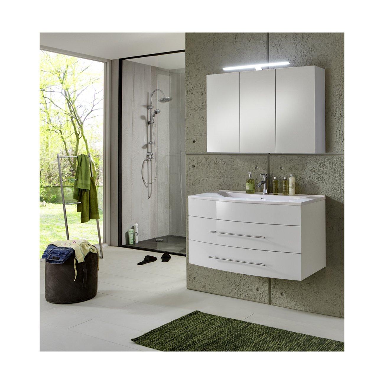 sam design badm bel set basel in wei 2 teilig beckenauswahl ihre variante mineralgussbecken. Black Bedroom Furniture Sets. Home Design Ideas