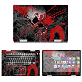 Decalrus - Protective Decal Skin Sticker for Dell Inspiron 5591 2-in-1 (15.6