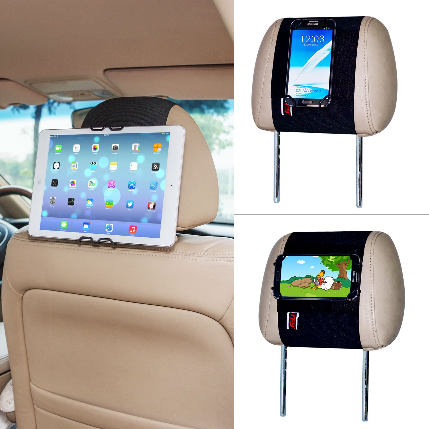 best tablet headrest mount