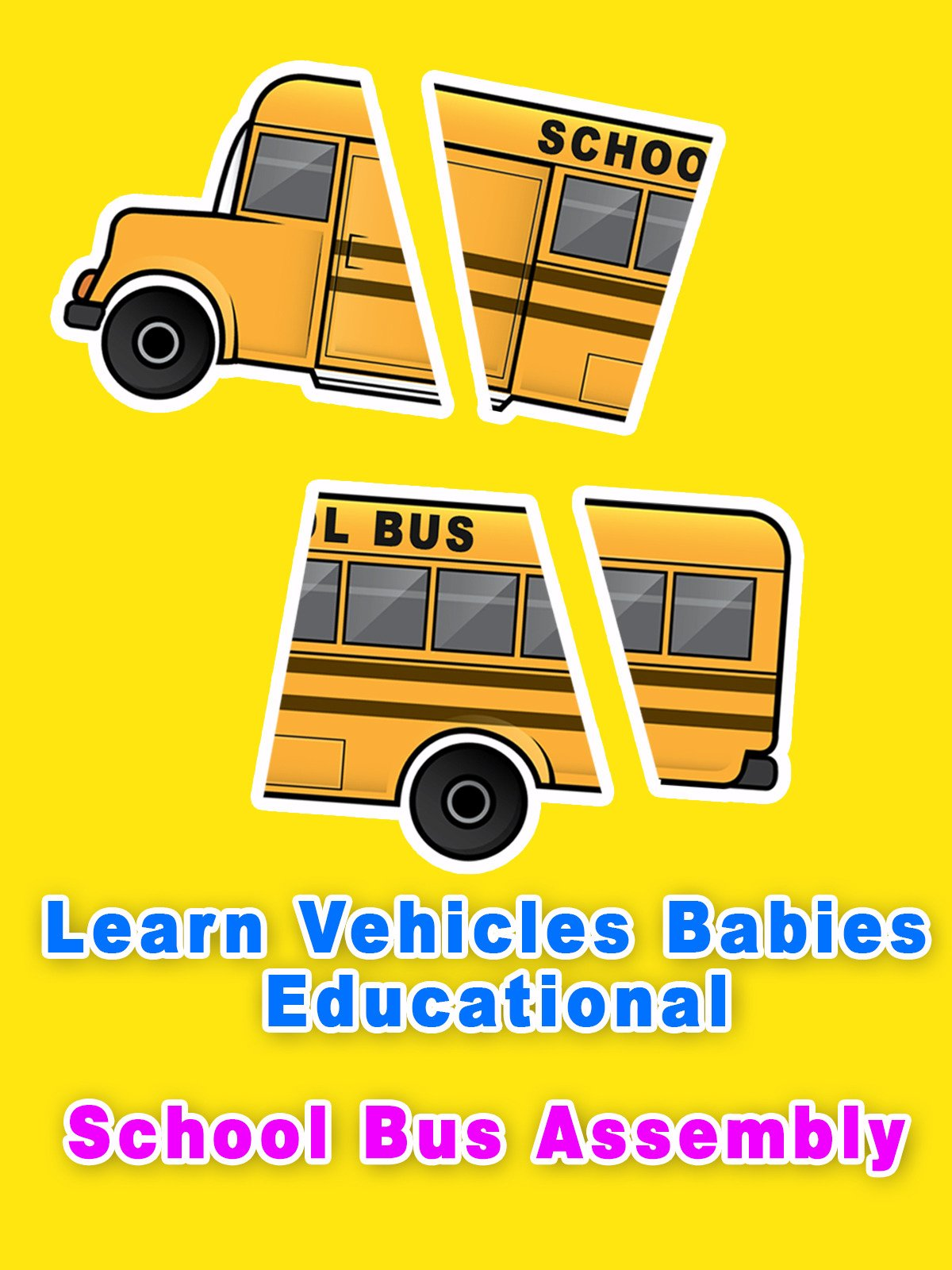 Learn Vehicles Babies Educational