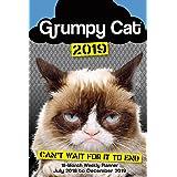 Grumpy Cat 2019 18-Month Weekly Planner (Tamaño: 6 inch x 9 inch)