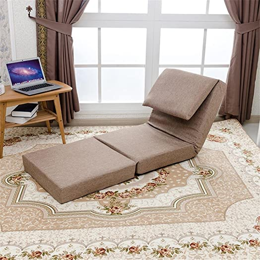 LIYONGDONG® Letto divano letto Divano pieghevole in tatami Divano letto singolo Tempo libero Schienale reclinabile Rimovibile e lavabile , 5
