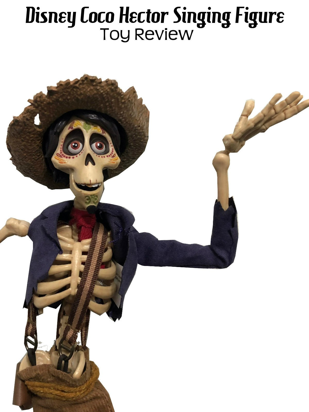 Review: Disney Coco Hector Singing Figure Toy Review