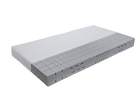 orthopädische 7 Zonen Kaltschaummatratze Sleep-Line-Classic Medicottbezug Härte: H2 (bis max. 85kg) Gr.90x200 cm