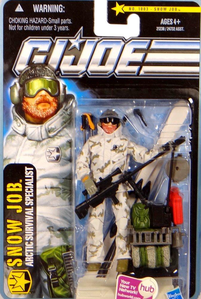 G.I. Joe Snow Job Arctic Survival Specialist – Arctic Threat – The Pursuit of Cobra – Actionfigur von Hasbro günstig
