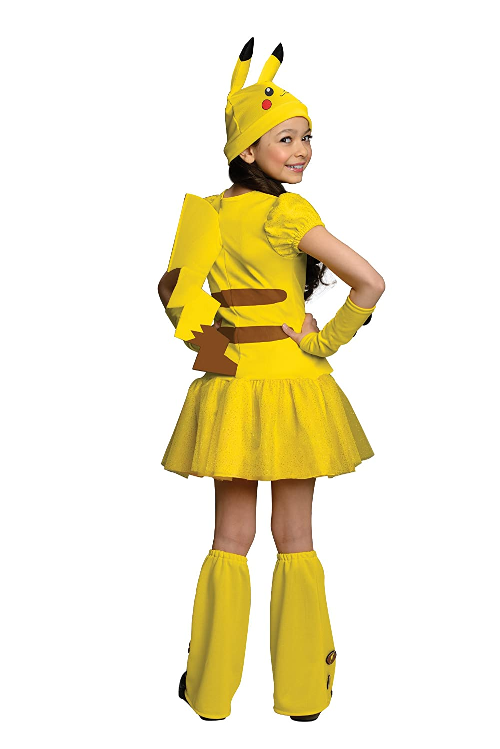 Girls costume pikachu pokemon