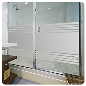 glasdekorfolie dusche folie f r duschkabine fensterfolie bad. Black Bedroom Furniture Sets. Home Design Ideas
