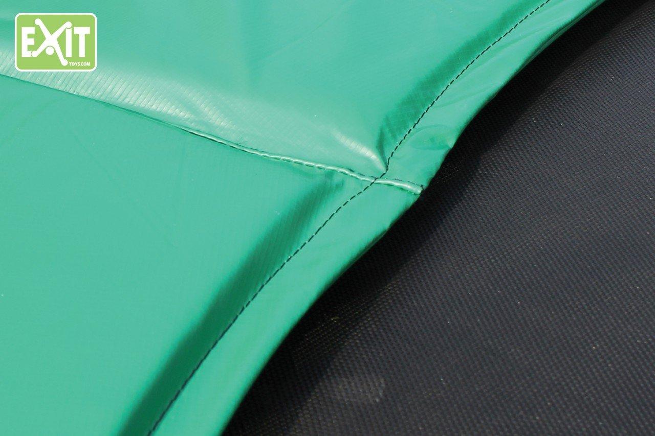 EXIT JumpArenA Oval Schutzrand 2,44×3,80 passender Abdeckrand-Zubehör für EXIT JumpArenA Trampolin Ø 244×380 cm grün/Lieferung OHNE Trampo günstig
