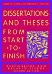 Dissertations and Theses From Start t...