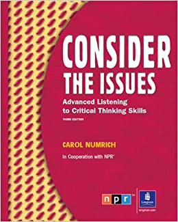 face the issues intermediate listening and critical thinking skills Related face the issues intermediate listening and critical thinking skills third edition student bookpdf free ebooks - sound patterns sports promotion in schools.