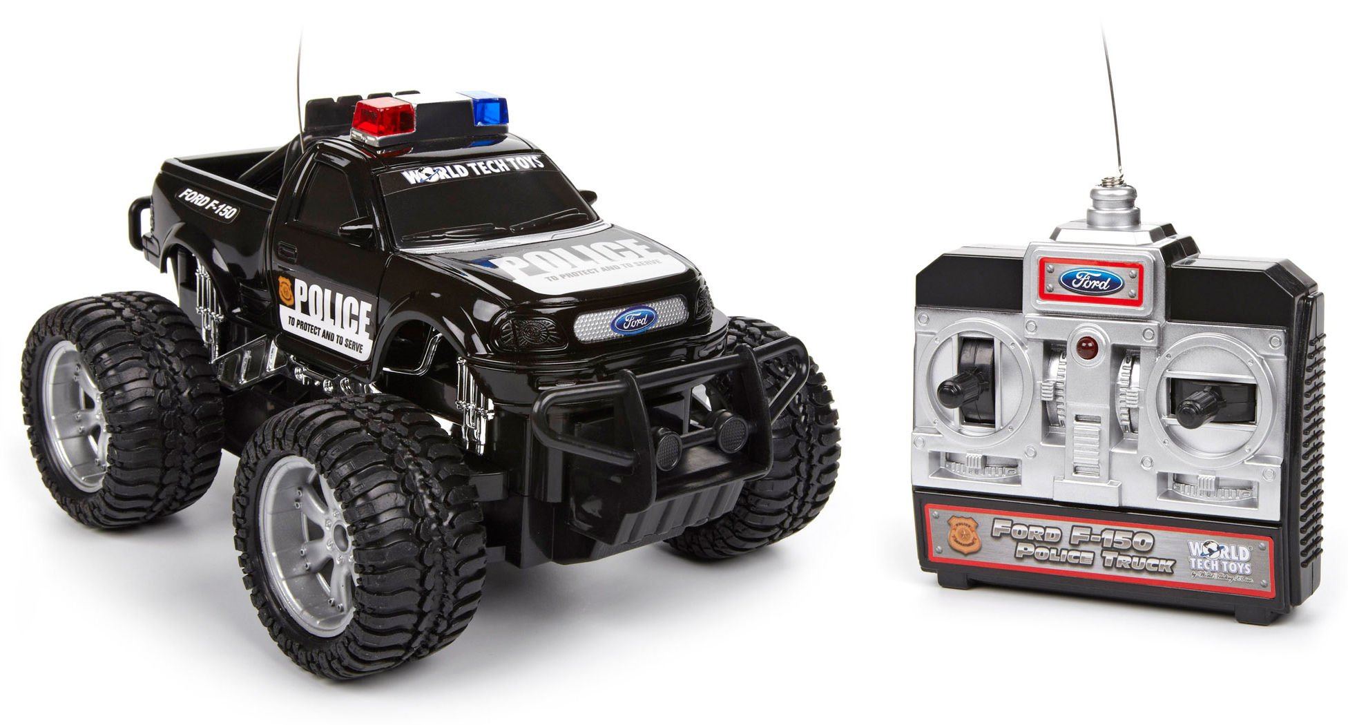 world tech toys ford f 150 electric rtr rc police truck 1. Black Bedroom Furniture Sets. Home Design Ideas
