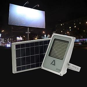 Alpha 1200X Billboard Light // Security Light // Flood Light for Warehouse, Road Signs, Regulatory Signs, Waterproof Weatherproof IP65 (Color: White)