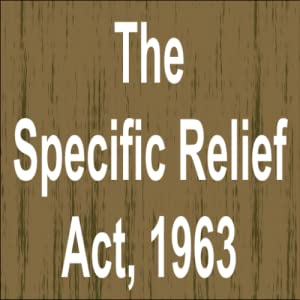 the specific relief act 1877 bangladesh