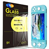 [2-Pack] Screen Protector for Nintendo Switch Lite, GESMA Screen Protector for Nintendo Switch Mini, Bubble Free Clear Tempered Glass Screen Protector for New Nintendo Switch Lite Phone(Clear)
