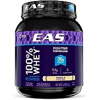EAS 100% Pure Whey Protein Powder, Vanilla (2lb)