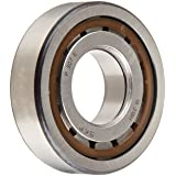 SKF NUP 307 ECP Cylindrical Roller Bearing, Single Row, Two Piece, Removable Inner Ring, Straight Bore, High Capacity, Normal Clearance, Polyamide/Nylon Cage, Metric, 35mm Bore, 80mm OD, 21mm Width