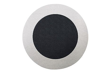 WHD 148001072400100 r240 ronde eB-façade haut-parleur en acier inoxydable avec grille anthracite
