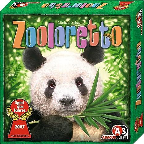 """Abacusspiele - 3071 - Jeu de société """"Zooloretto"""" - Elu jeu de l'année 2007 en Allemagne (En Allemand)"""
