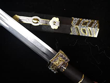 Damascus Steel Sword Blade Sword Damascus Steel