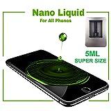 Original Nano Liquid Screen Protector, Scratch Resistant 9H Hardness for All Smartphones, Tablets, Watches Glasses, Cameras. Nano Coating (Aluminium, 5 ml XL Super Size) (Color: Aluminium box, Tamaño: 5 ml XL Super Size)