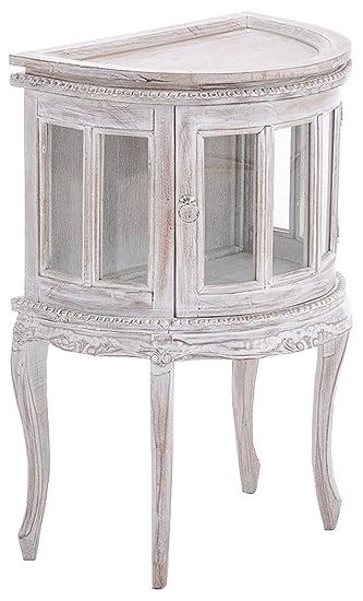 La table du thé pour mur en bois rustique - 77 x 50 x 35 cm - PEGANE