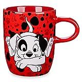 Disney Store 101 Dalmatians Patch Mug Red 2018 (Color: Red, Tamaño: 10 ozs)