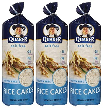 Quaker Oats Rice Cakes No Salt