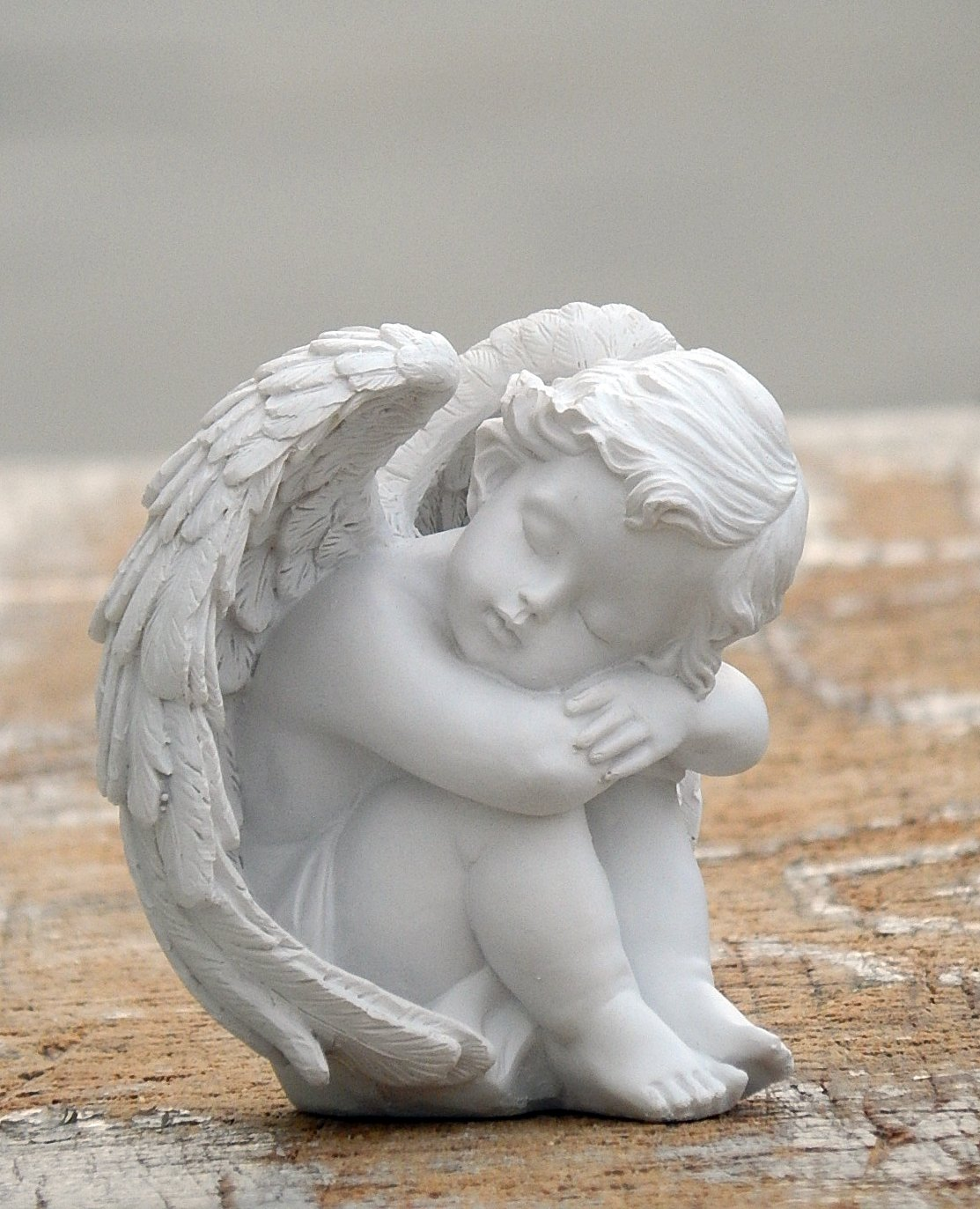 Beautiful angel figurines fairy love statues in baby Home decor sculptures
