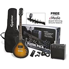 Epiphone Les Paul Special II Electric Guitar Player Pack - Vintage Sunburst