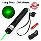 WORD GX Green Light Pointer High Power Visible Beam with Adjustable Focus for Hunting Hiking (Color: green)