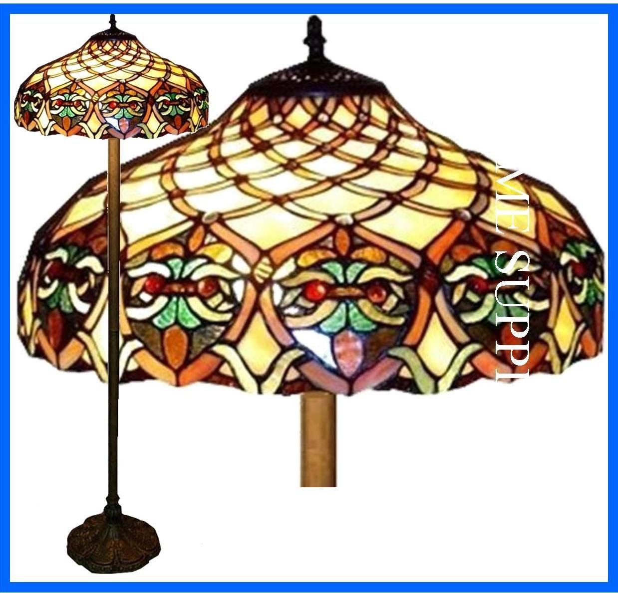 Baroque Tiffany Style Floor Lamp       Customer reviews and more information