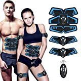 ?New Version 2018?ABS Stimulator,Abdominal Muscle Toner,EMS Abs Trainer Fitness Slimming Body Sculptor Butterfly ab Belt Gym Pad Exerciser Belts Fat Burner