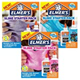 Elmer's Slime Starter Kit, 2 Pink, 2 Blue & 2 Purple Glitter Glues With 6 Washable Clear Glues, Total of 12 Bottles (Color: Pink Glitter + Blue Glitter + Purple Glitter + Clear, Tamaño: Bundle)