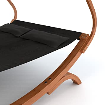 luxus doppel sonnenliege panama 230x180x170 cm mit verstellbarem sonnendach. Black Bedroom Furniture Sets. Home Design Ideas