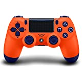 DualShock 4 Wireless Controller for PlayStation 4 - Sunset Orange (Color: Sunset Orange)