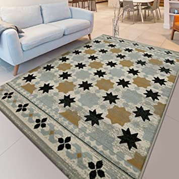 Mesa de centro rectangular de sofá con alfombra de cabecera lavable a máquina ( Tamaño : 1.4*2.0m )