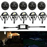 FVTLED Pack of 10 Warm White Low Voltage LED Deck lights kit F1.38