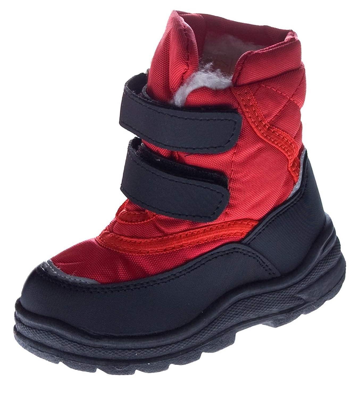 Kinder Winter Schuhe gefüttert Knöchel Stiefel f Mädchen u Jungen Blau Rot Pink Fuchsia günstig kaufen