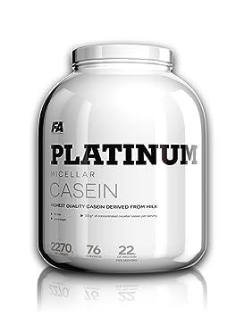 FA Nutrition Platinum Micellar Casein 1,6 kg Eiweiß Protein / Vanille