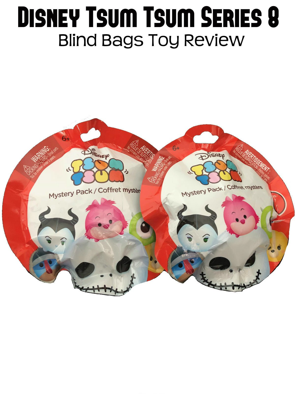 Review: Disney Tsum Tsum Series 8 Blind Bags Toy Review