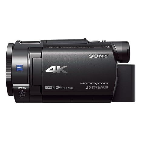 Sony FDR-AX33 Camescope 4K Zoom Optique 10 x 18.9 Mpix